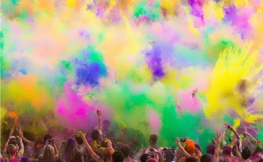 l holi colors (foto l unione sarda nachira)