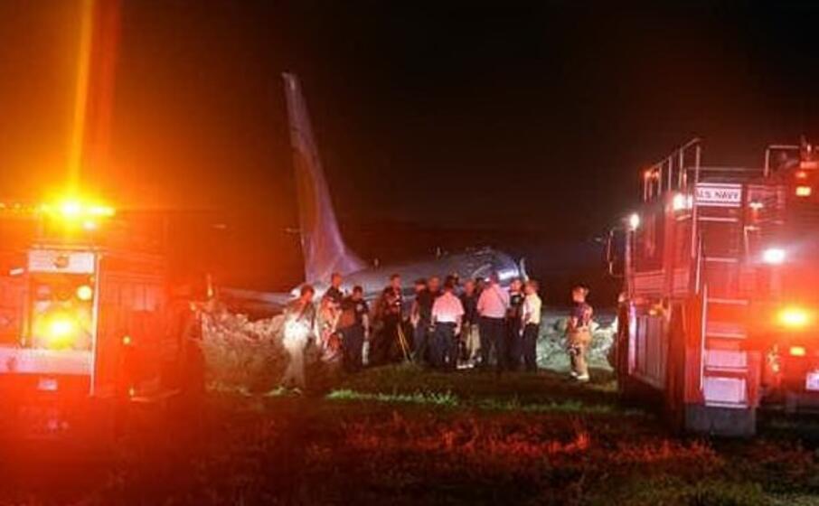 il luogo dell incidente (foto twitter)