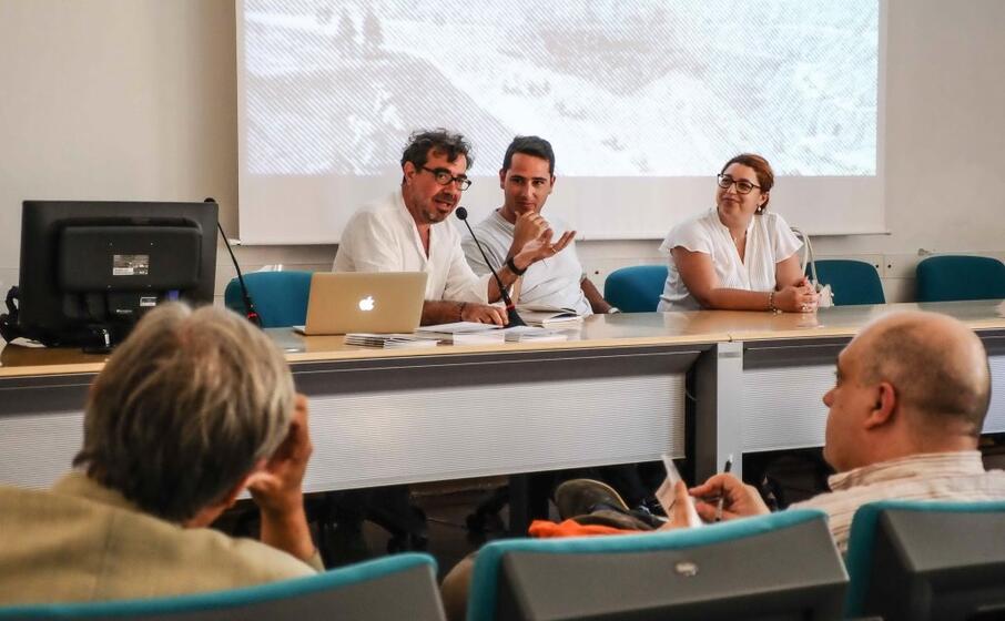 la conferenza di presentazione del progetto (l unione sarda cucca)
