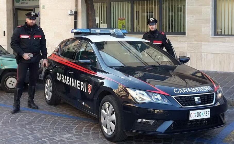 i carabinieri (archivio l unione sarda)