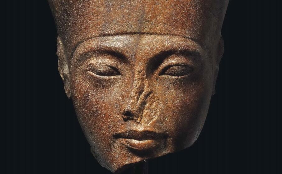 la statua del faraone tutankhamon (ansa)