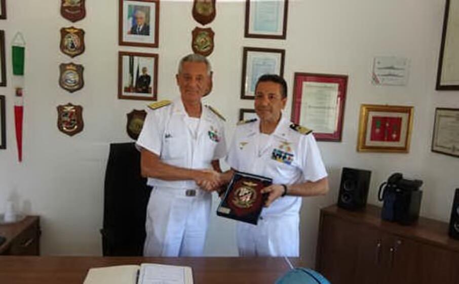 la visita (foto guardia costiera)