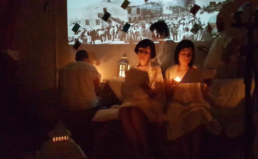 un edizione di letti di notte a tuili (foto l unione sarda pintori)