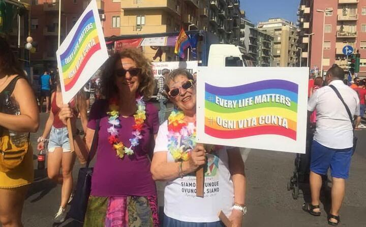cartelli arcobaleno (l unione sarda careddu)