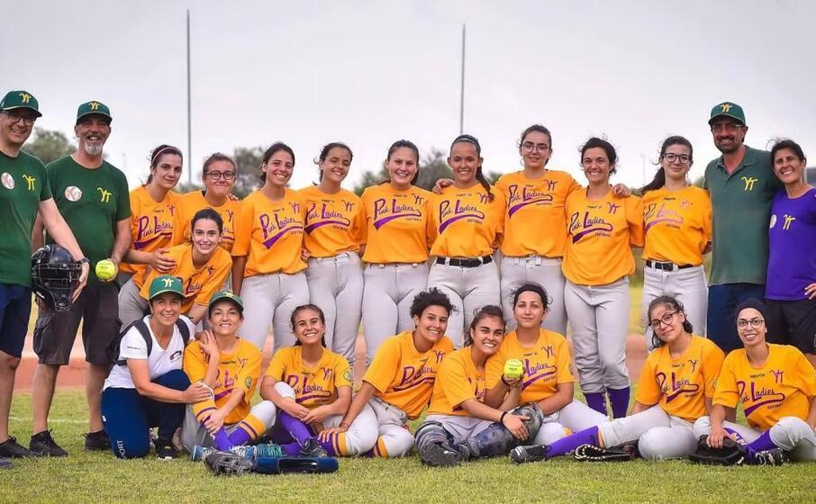 le pink ladies della yellowstone team sassari (foto claudio atzori)