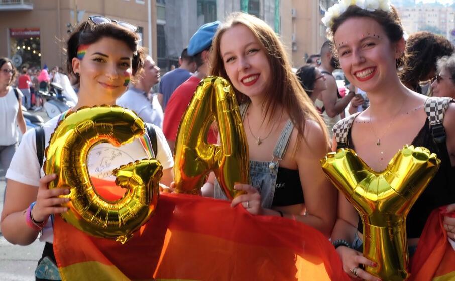 il sardegna pride (foto l unione sarda ungari)