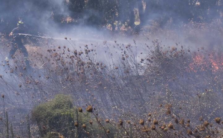 fiamme a carbonia (l unione sarda murru)