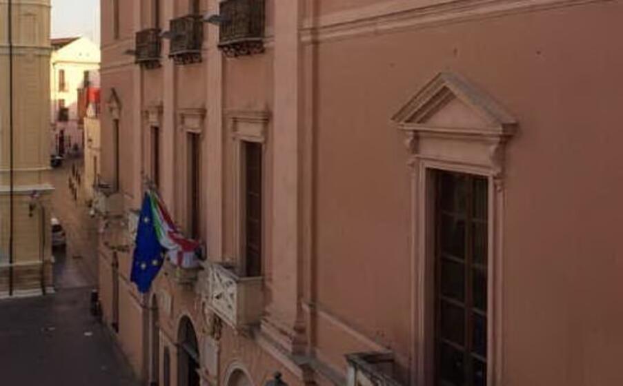 il palazzo comunale (foto l unione sarda simbula)