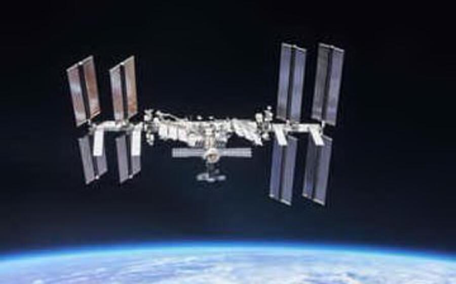 la stazione orbitante (foto ufficio stampa)