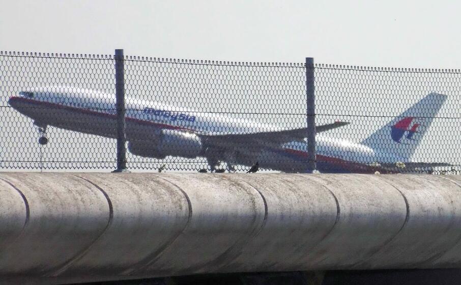 un boeing della malaysia airlines