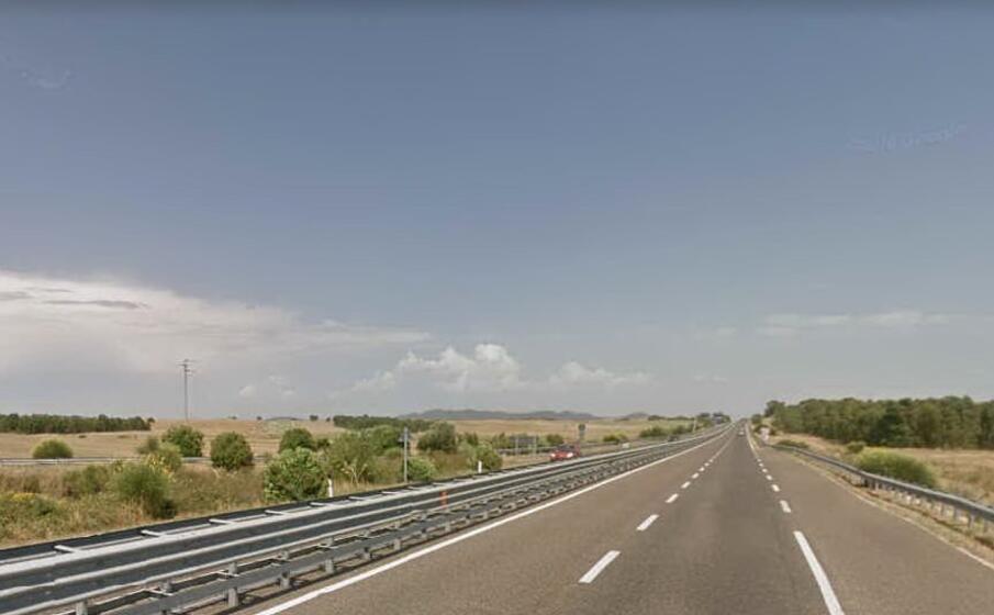 un immagine della ss 130 (foto google maps)