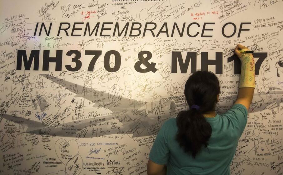 un muro in ricordo delle vittime (tutte le foto sono ansa)