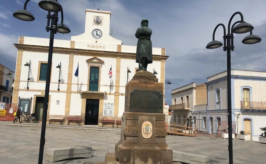 il municipio di calasetta (foto l unione sarda scano)