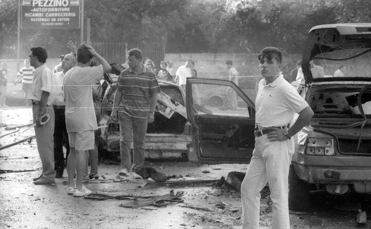 immagini dal luogo dell attentato