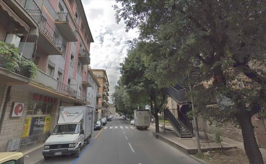 via eugenio chiesa a terni (foto google maps)
