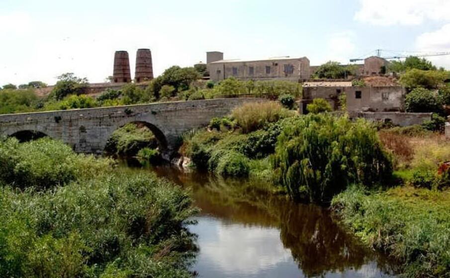 il rio mannu (foto l unione sarda pala)