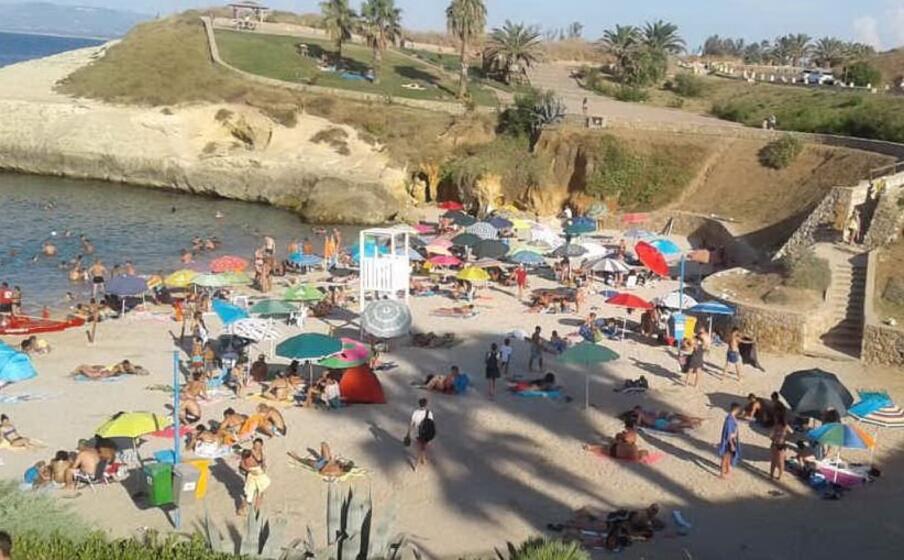 la spiaggia di balai (foto mariangela pala)