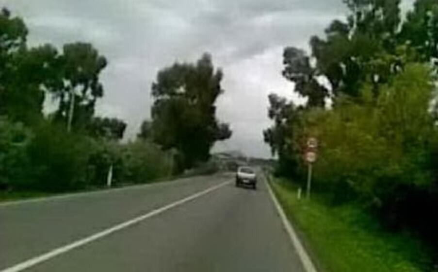 la statale 387 (foto l unione sarda sirigu)
