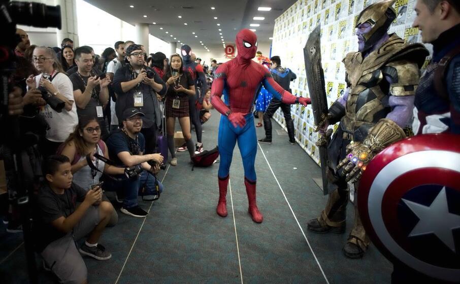 e l altrettanto immancabile spider man