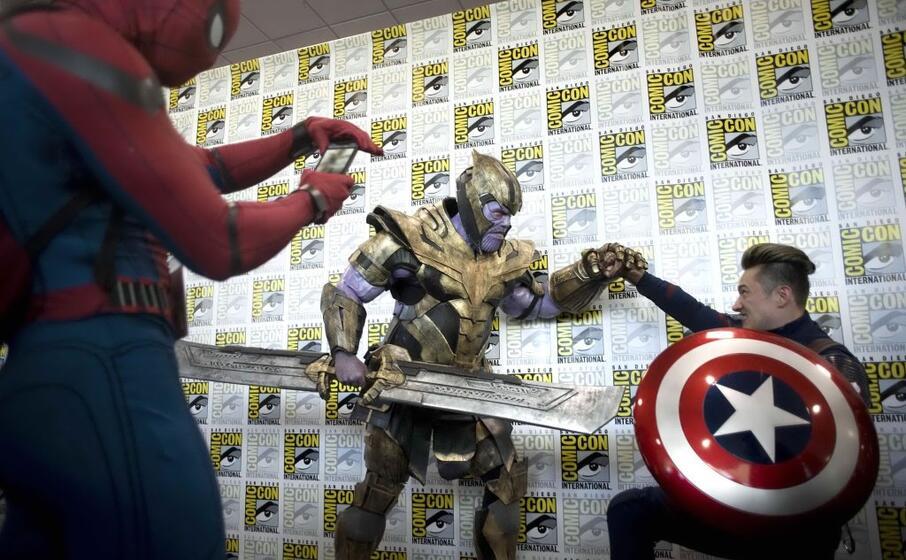 torna il comic on san diego invasa dai supereroi