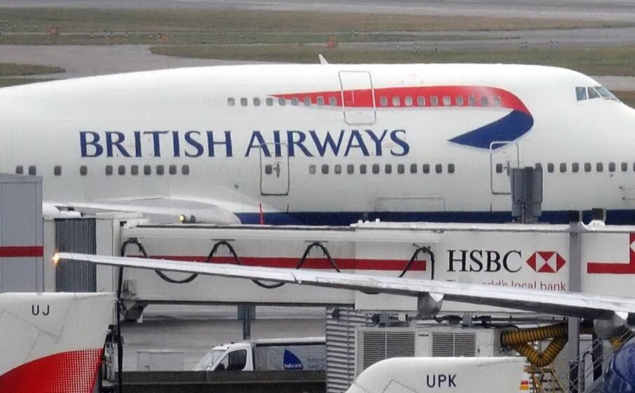 un aereo british airways (ansa)