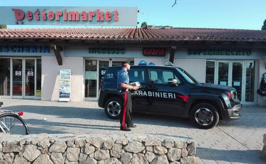 il luogo dell incidente (foto carabinieri di nuoro)