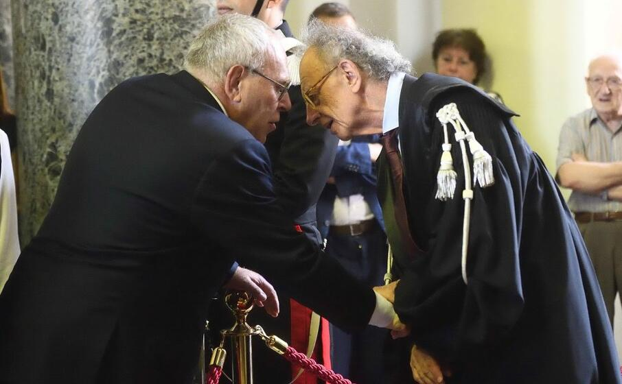 il procuratore francesco greco e gherardo colombo