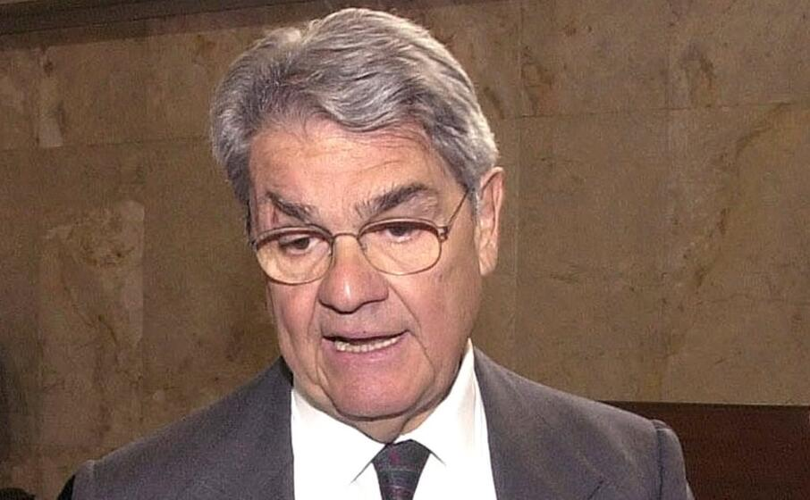 l ex ministro calogero mannino (ansa)