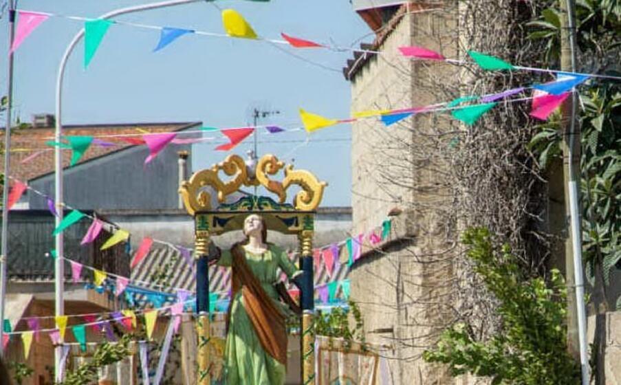 la processione di santa maria maddalena (foto antonio pintori)