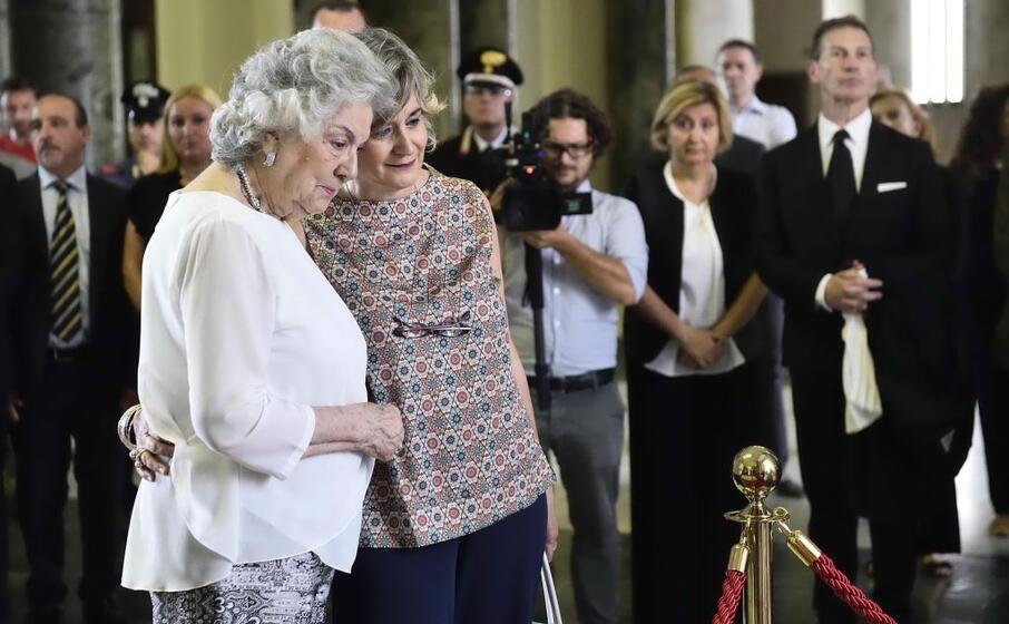 maria laura borrelli con la figlia federica