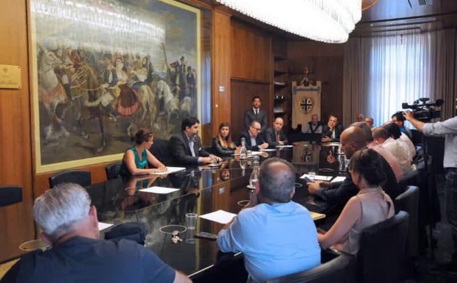 un immagine dell incontro (foto ufficio stampa regione sardegna)