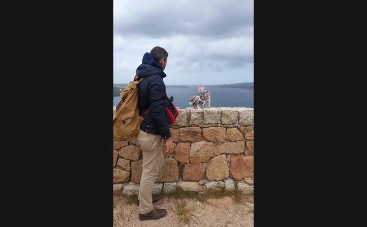 ceci con andrea la sua prima vacanza a palau foto di ivana da quartu sant elena
