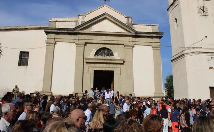 la chiesa in cui si svolto il funerale