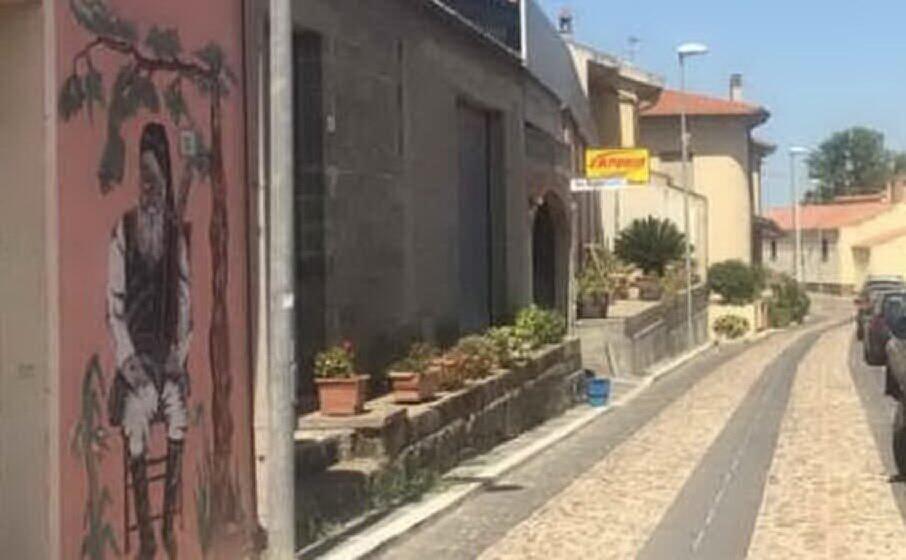 il luogo della rapina (foto l unione sarda chergia)