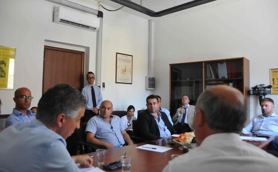 l incontro (foto ufficio stampa)