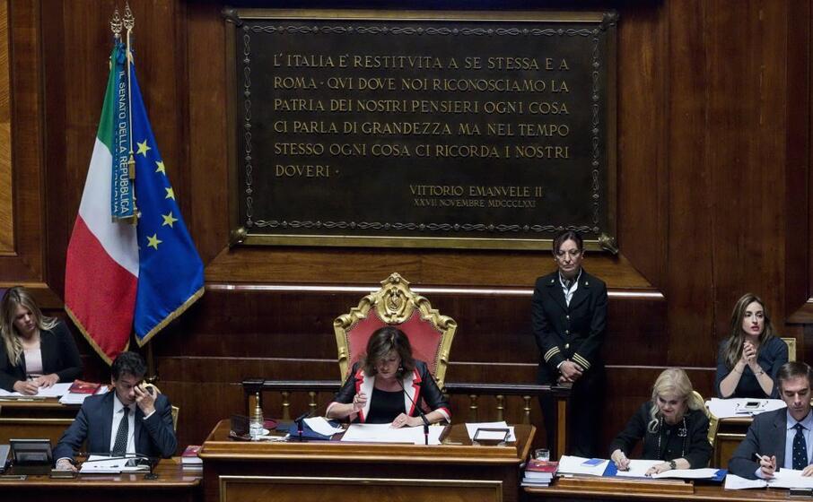 elisabetta casellati presidente del senato (ansa)