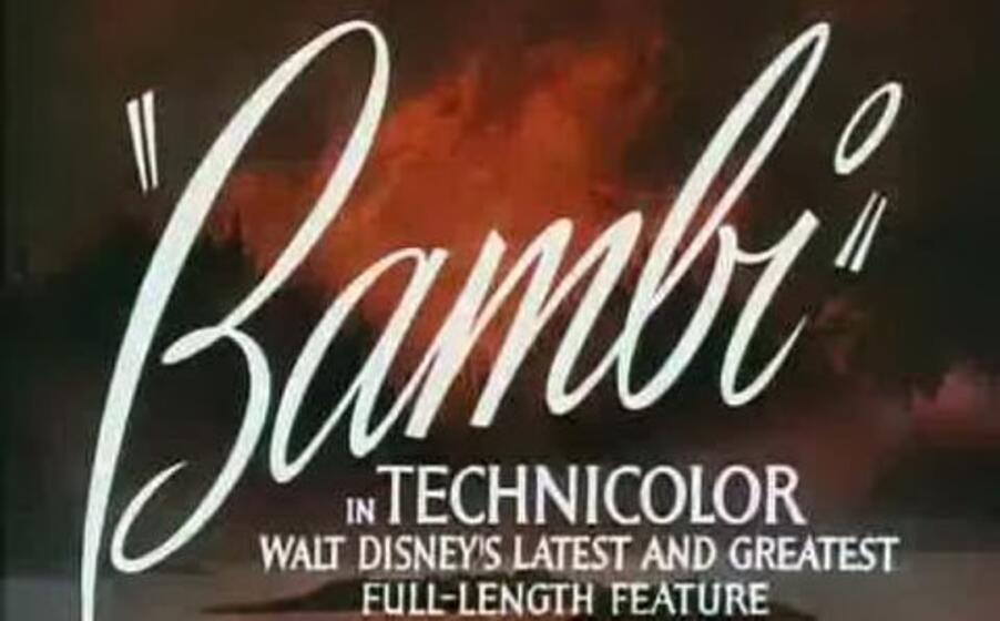 il titolo del film durante il trailer originale (foto wikipedia)