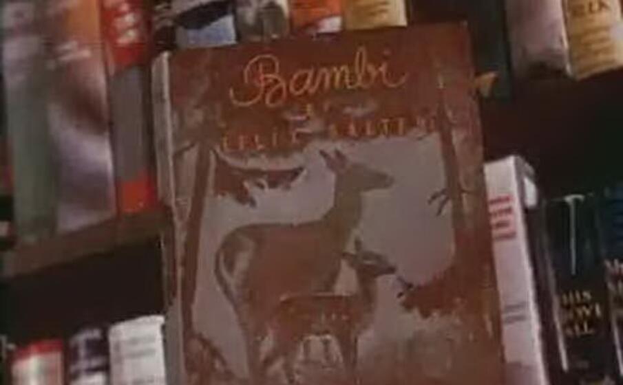 una copia del libro bambi di felix salten (foto wikipedia)