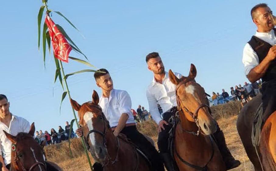 il vincitore (foto l unione sarda sirigu)