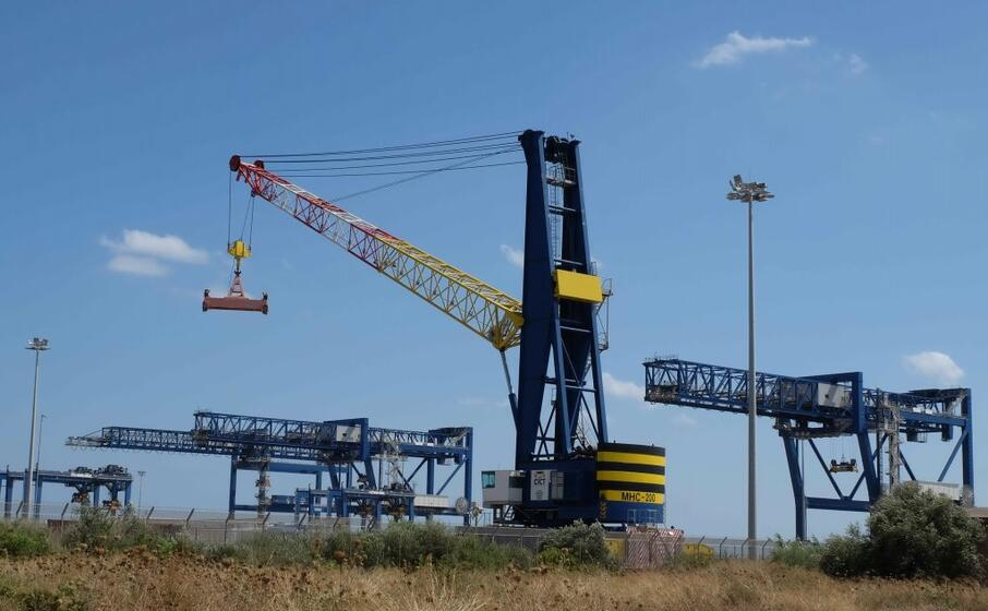 l area di porto canale (archivio l unione sarda)