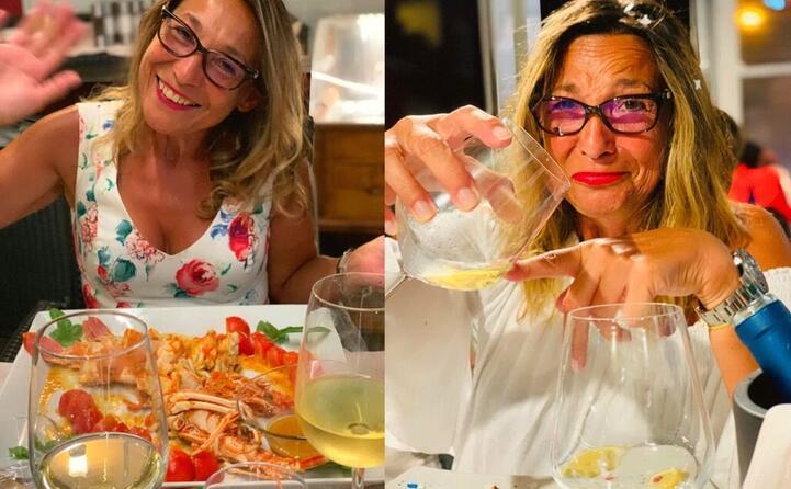 l aragosta alla castellanese accompagnata da un gustoso vermentino foto di patrizia redaelli da castelsardo