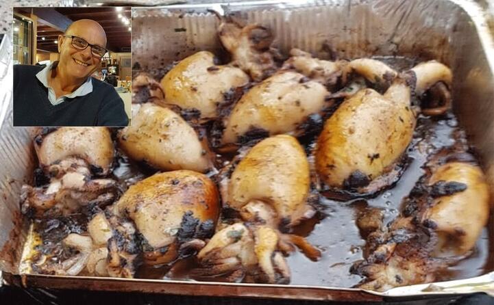 l arrosto in umido di seppie cucinato da gigi scotto