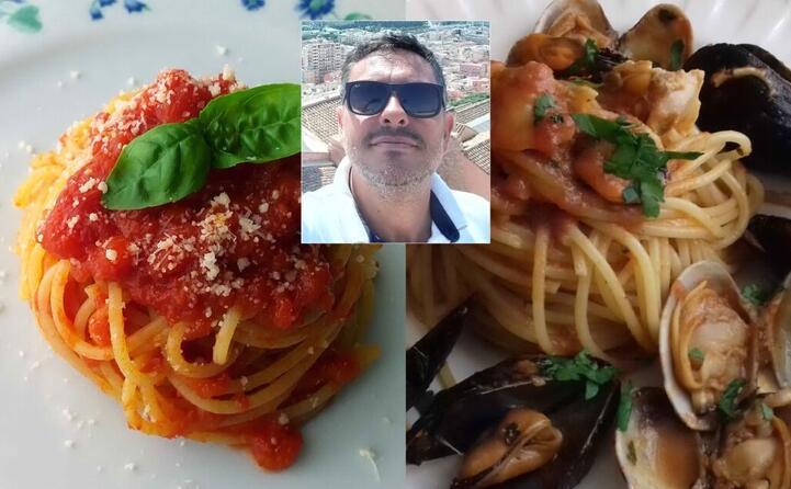 spaghetti al pomodoro e spaghetti alle cozze e arselle realizzati da ottavio perseu (selargius)