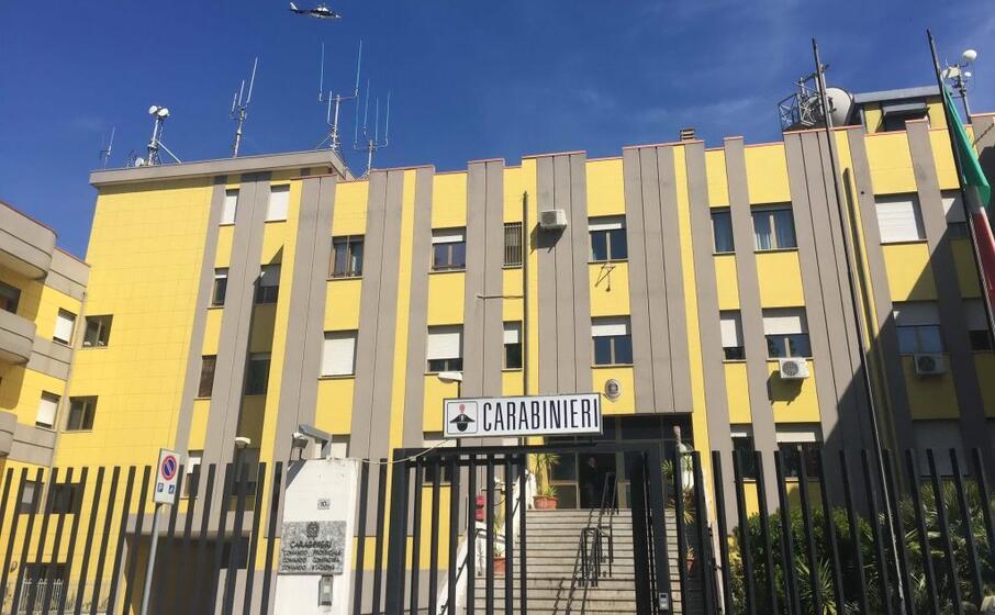 il comando provinciale dei carabinieri (foto l unione sarda sanna)