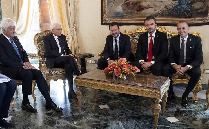 salvini romeo molinari dal capo dello stato