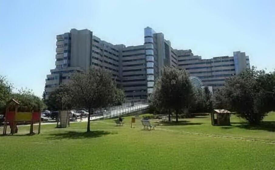 l ospedale brotzu (archivio l unione sarda)
