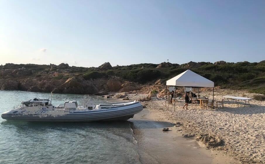 la spiaggia di mortorio (foto l unione sarda serreli)