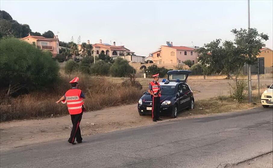 un controllo (foto carabinieri di cagliari)