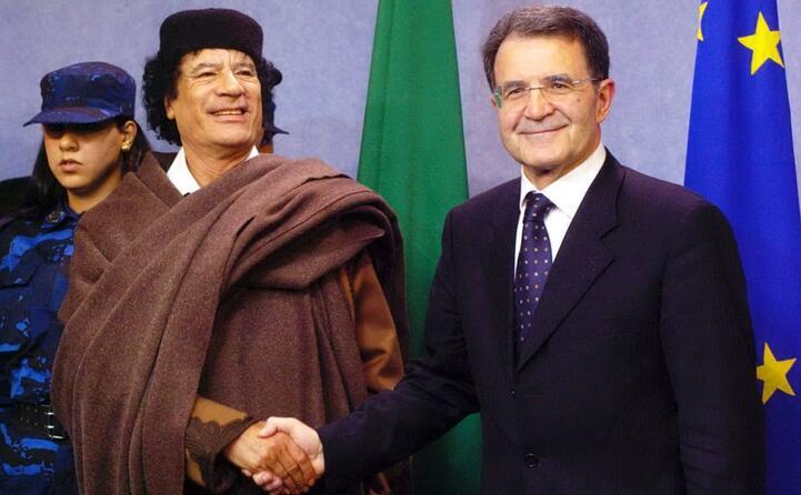 con prodi all epoca presidente della commissione europea