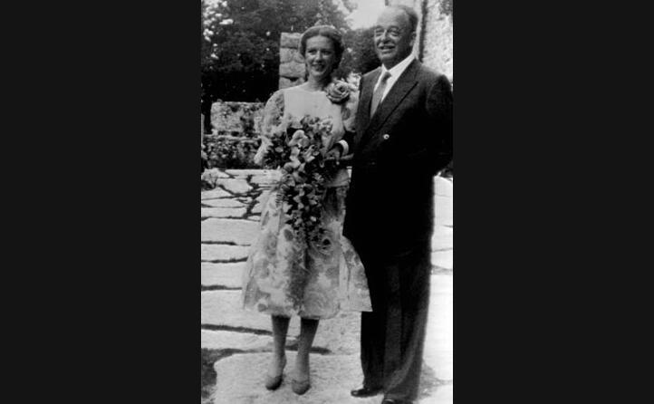 la coppia il giorno delle nozze